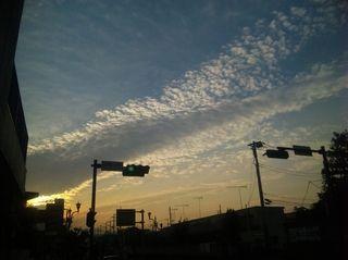 2009年10月20日の空