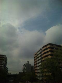 2009年10月19日の空